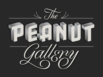 """Sweet! 'Talk to Google Chrome & the title cards appear' Chrome Experiments - """"The Peanut Gallery"""" by Google Data Arts Team 