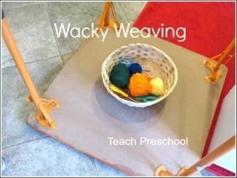 Upside down, wacky weaving | Teach Preschool | Scoop.it