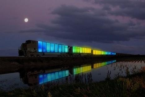 Une compagnie ferroviaire japonaise invente la galerie d'art la plus rapide du monde | Art Contemporain | Scoop.it
