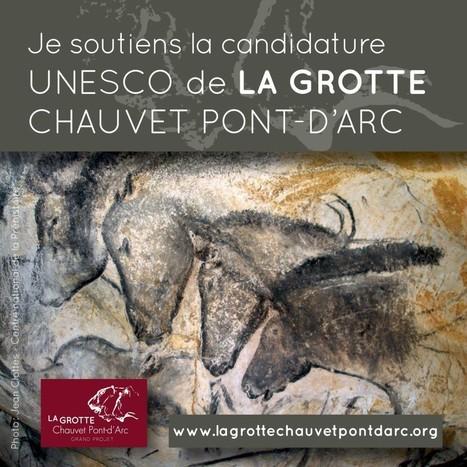 Unesco : La Grotte Chauvet Pont-d'Arc présentée par la France | Revue de Web par ClC | Scoop.it