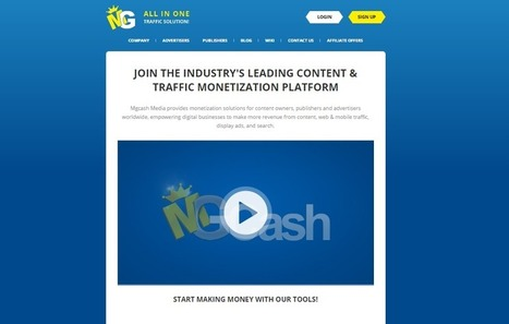 MGCash Review : CPA Affiliate Marketing Network | Website | Scoop.it