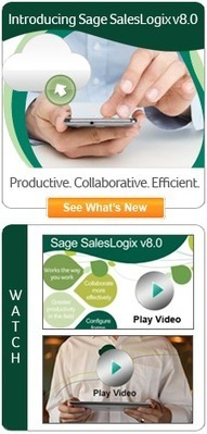 Sage SalesLogix - Change a small work habit and the time you save co... - Sage SalesLogix Forum | Construction Industry | Scoop.it