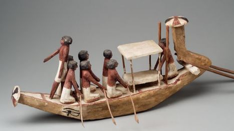 A model funerary boat in ancient Egypt | Learning about Ancient Egypt | Scoop.it