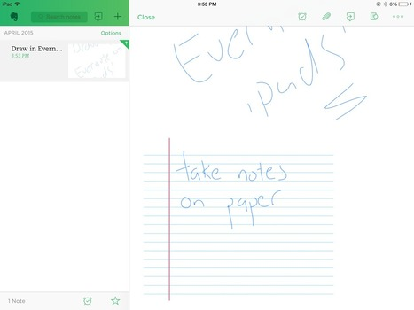 Hacking Evernote on iPads | 21st Century Concepts-Technology in the Classroom | Scoop.it