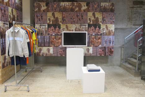 Gosha Rubchinskiy Installation at Dover Street Market | SLAMXHYPE | COMME des | Scoop.it
