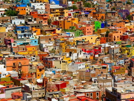 THE WORLD GEOGRAPHY: 11 of the Most Colorful Cities in the World | Social Studies Education | Scoop.it