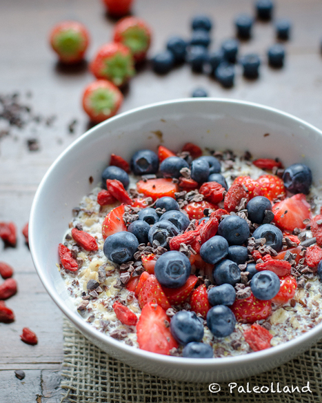 #HealthyRecipe / Superfood Overnight Oats | Health and beauty | Scoop.it