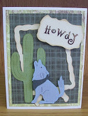 Wolf Card Using Old West Cricut Cartridge - News - Bubblews | P.S. I Love You Paper Arts and Crafts | Scoop.it
