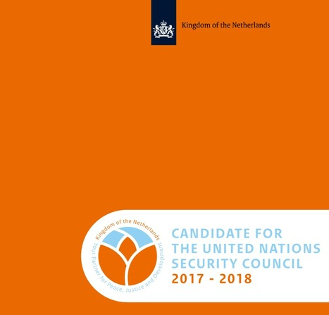 The Netherlands: Candidate for the UN Security Council 2017 - 2018 | Development | Scoop.it