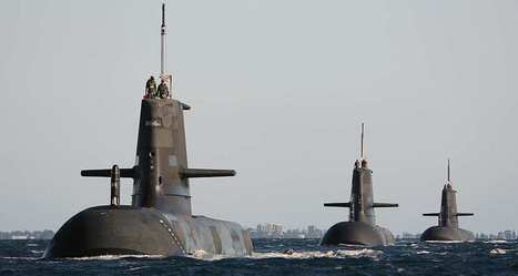 Thales va moderniser les systèmes de détection des sous-marins australiens | Industrie, entreprises | Scoop.it