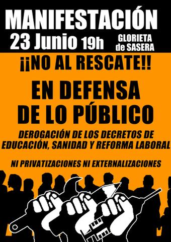 Acampada Zaragoza | Movimiento 15M Zaragoza | mañ@indignad@ | Scoop.it