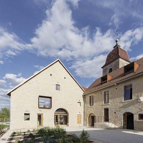 Lantenne-Vertière (25) : Réhabilitation d'un presbytère par Amiot-Lombard | Revue de presse du CAUE de la Nièvre | Scoop.it