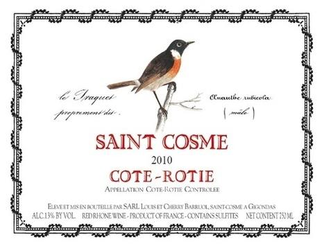 2011 Saint-Cosme Côte-Rôtie   oenologie en pays viennois   Scoop.it