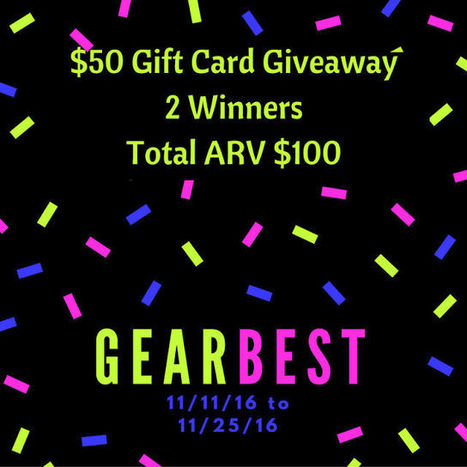 Gearbest Online Shopping Gift Card Giveaway - Work Money Fun | Giveaway, Contest, Sweepstakes, Coupons and Deals | Scoop.it
