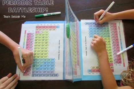 Teach Kids Chemistry With This Homemade Periodic Table Battleship Game | relevant entertainment | Scoop.it