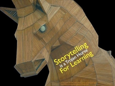 Storytelling is a Trojan Horse for Learning | Content Creation, Curation, Management | Scoop.it