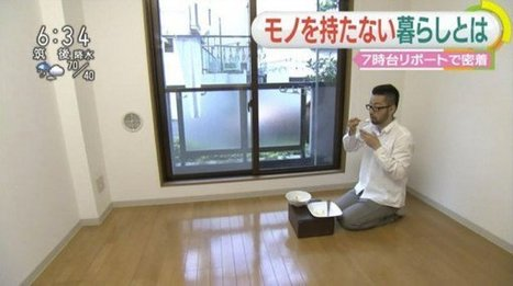 Japan's Hardcore Minimalists Live in Virtually Empty Homes | Oddity Central - Collecting Oddities | Living History | Scoop.it
