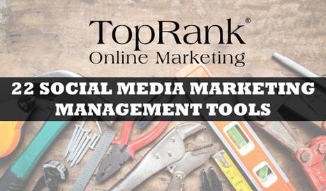 Social Media Marketing Management Tools List - Updated!   Tech Tips   Scoop.it