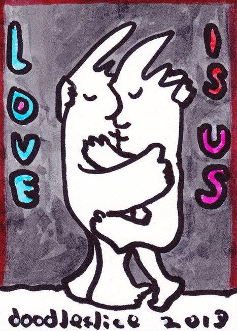 Love Is Us - print | Odd Design | Scoop.it