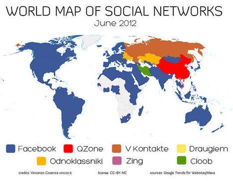 Réseaux sociaux dans le monde 2012 : quelle est la situation ? | Les réseaux sociaux en entreprise | Scoop.it