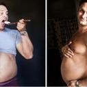 Su Esposa Se Negó A Tomarse Fotos Embarazada Y Él Tomó Su Lugar. | e-spacio | Scoop.it