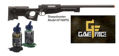 Game Face Airsoft Introduces Sharpshooter Airsoft Rifle And ... | Walker Wargame | Scoop.it