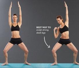 Technique Essentrics – Les pliés, travail des quadriceps ... | fitness et régime | Scoop.it