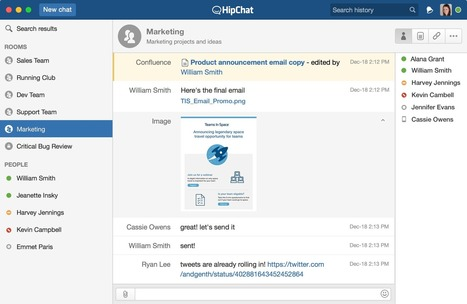 HipChat - Private group chat, video chat, instant messaging for teams | Technology and language learning | Scoop.it