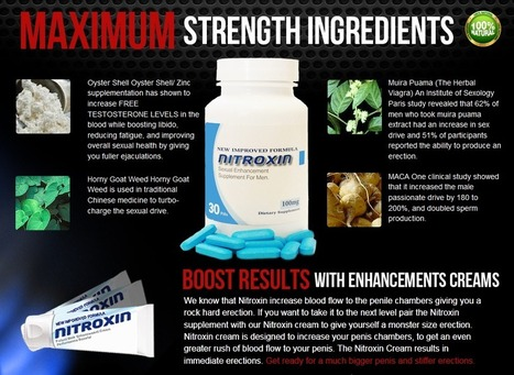 Nitroxin Review - GET FREE TRIAL SUPPLIES LIMITED!!! | Testosterone Power Booster | Scoop.it