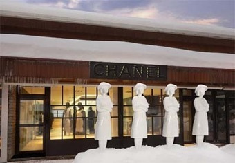 Chanel attracts ski bunnies with iPads in French Alps boutique - Luxury Daily - Mobile | Tourism Social Media | Scoop.it