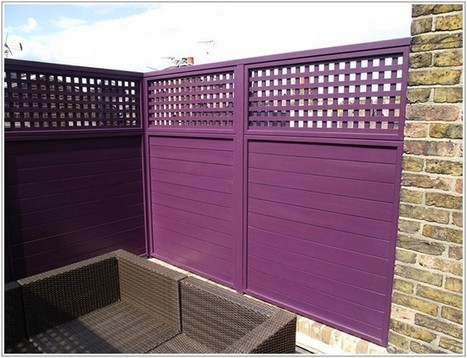 ungodly hot Purple Fence concept | Lovely Image Picture Photo and Wallpaper | Scoop.it