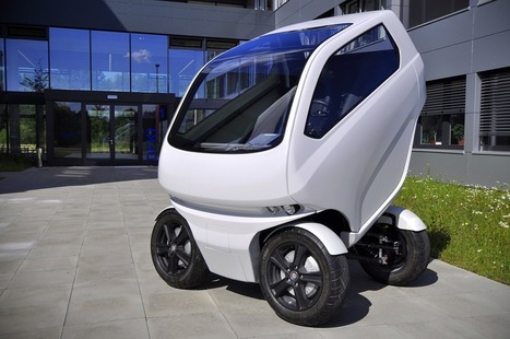 This TINY CAR can change shape and drive sideways | Machines Pensantes | Scoop.it