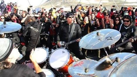 Metallica hace historia con concierto en la Antártida   Metallica Band   Scoop.it