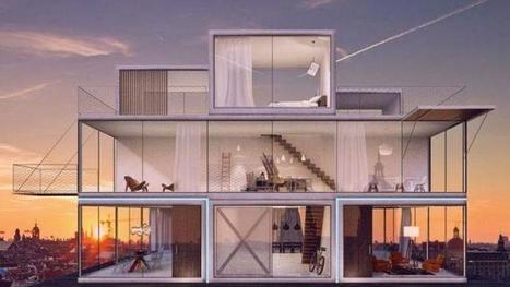 Une ingénieuse maison modulable à la gloire du jeu Tetris | Construire sa maison avec un architecte | Scoop.it