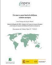 Un nuevo paso hacia la defensa común europea | Política de Defensa PND | Scoop.it