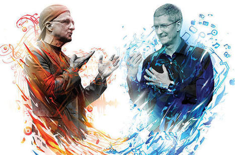 Apple Doesn't Want to Compete -- It Wants to Own the Record Business   audio branding   Scoop.it