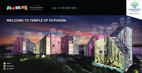 There is a New Home for Luxurious Apartments in Hadapsar Pune | Amanora Park Town | Scoop.it