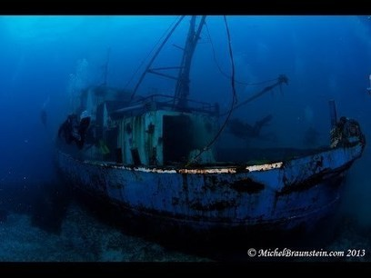 Sinking and First Dive on the Nemesis III in Cyprus | Michel Braunstein Underwater Photography News | Scoop.it