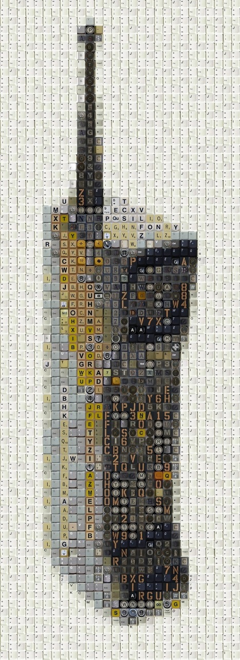 Keyboard Art – Old School 80's Electronica (14 Pictures) > MC Winkels weBlog | ASCII Art | Scoop.it