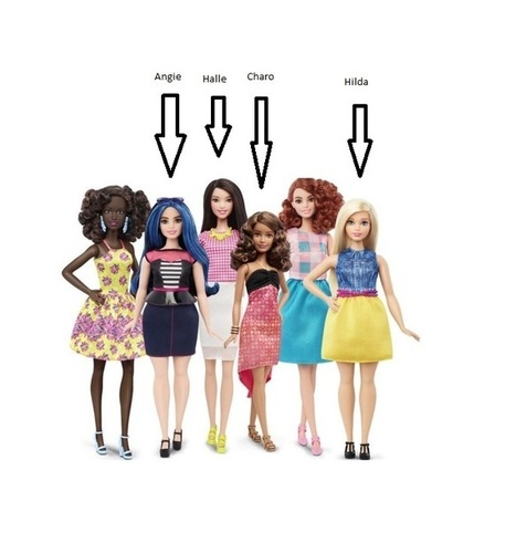 My Family as Barbie Dolls | Mixed American Life | Scoop.it