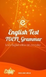 TOEFL Grammar Test - Applications Android sur GooglePlay | Android to learn English | Scoop.it
