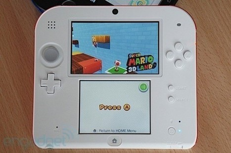 Nintendo 2DS: dropping one dimension, adding one more choice (hands-on) | ICT at IMCC | Scoop.it