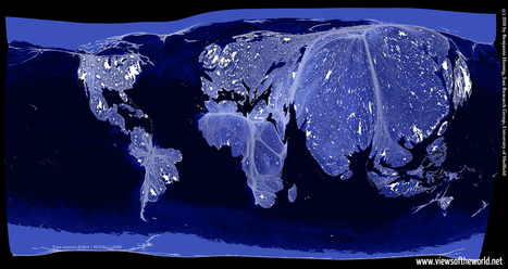 The Real World at Night | CJones: GIS - GoogleEarth - Cartography | Scoop.it