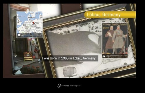 A First World War friendship – an interactive HTML5 video by Europeana | Video for Learning | Scoop.it