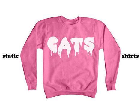 Cats Sweatshirt | Cat Sweater | CATS! | Fashion Shirt | Scoop.it