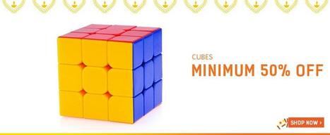 Minimum 50% Off On Cubes | DribblingMan | Scoop.it