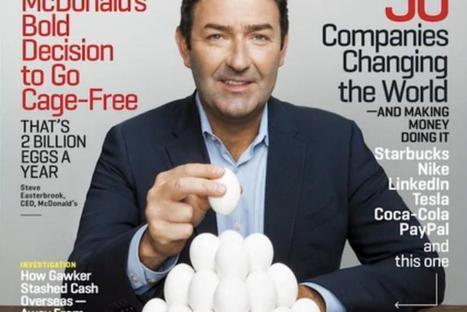 Pourquoi McDonald's veut 100% de poulets élevés en plein air | Changement | Scoop.it
