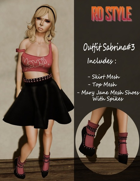 NEW COLLECTION RD STYLE | Second Life Fashion | Scoop.it