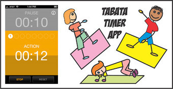 Your Therapy Source - www.YourTherapySource.com: Tabata Timer App to Get Moving | OT mTool Kit | Scoop.it