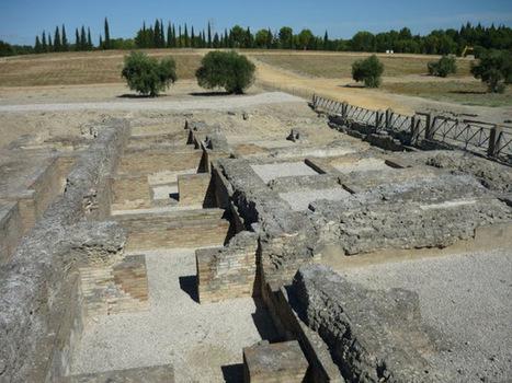 Italica un pedacito de Roma en España | Arqueología romana en Hispania | Scoop.it